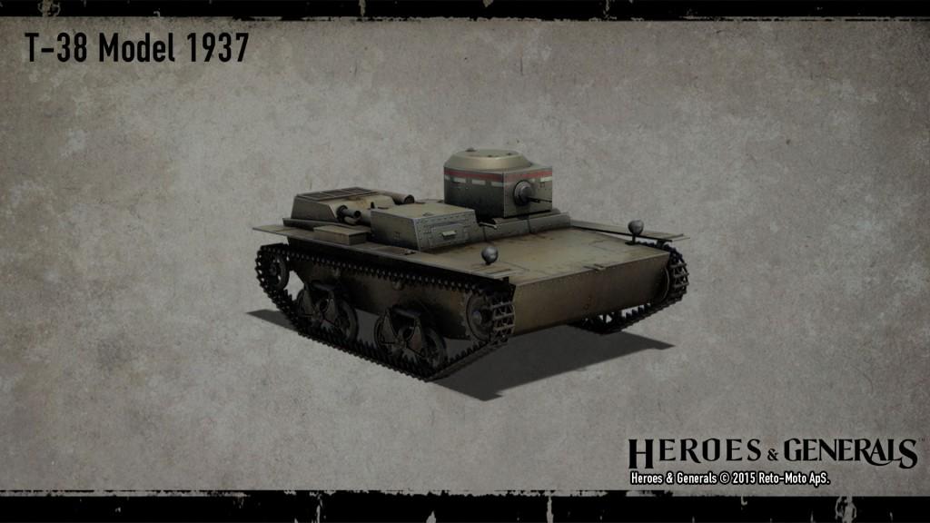 легкий танк T-38