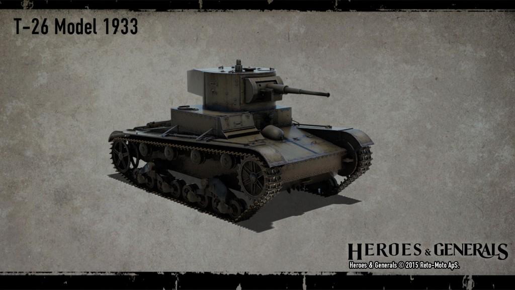 легкий советский танк Т-26