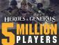 5 миллионов игроков