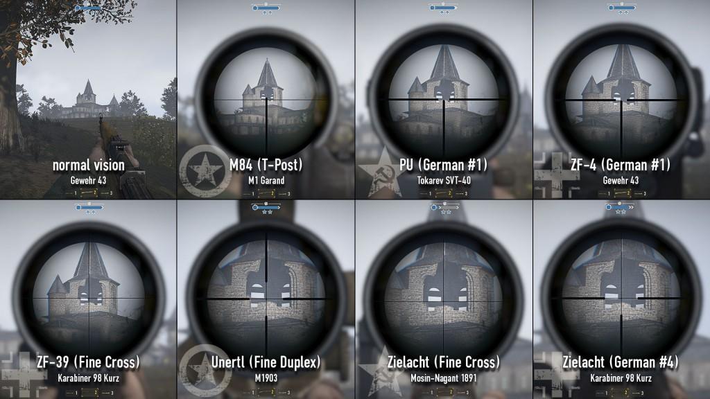 новые прицелы в игре Герои и Генералы