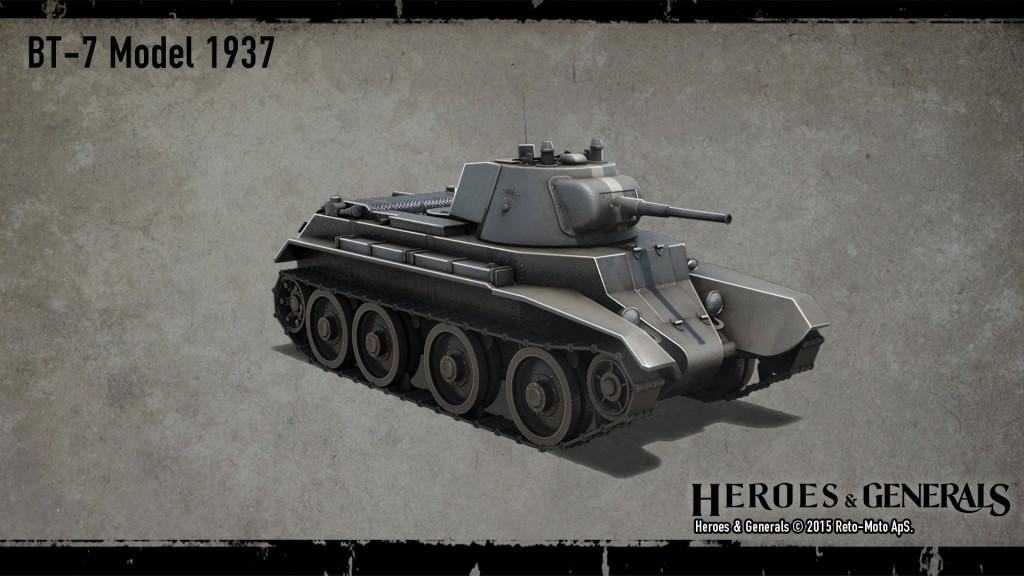 легкий танк BT-7