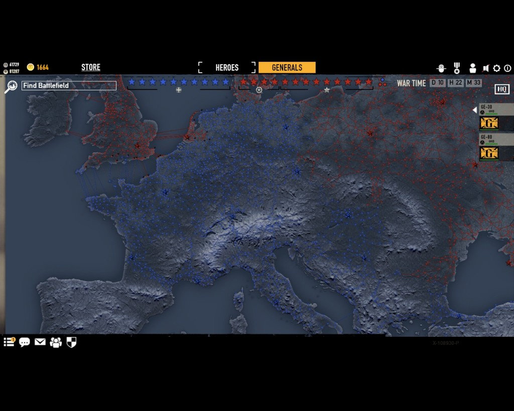 стратегическая карта войны в игре Герои Генералы - 15