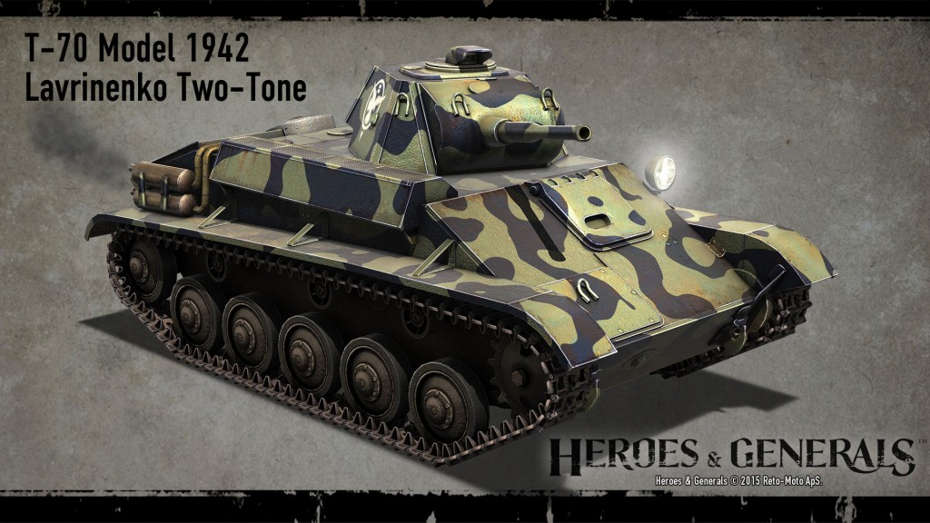T-70 легкий танк - 1